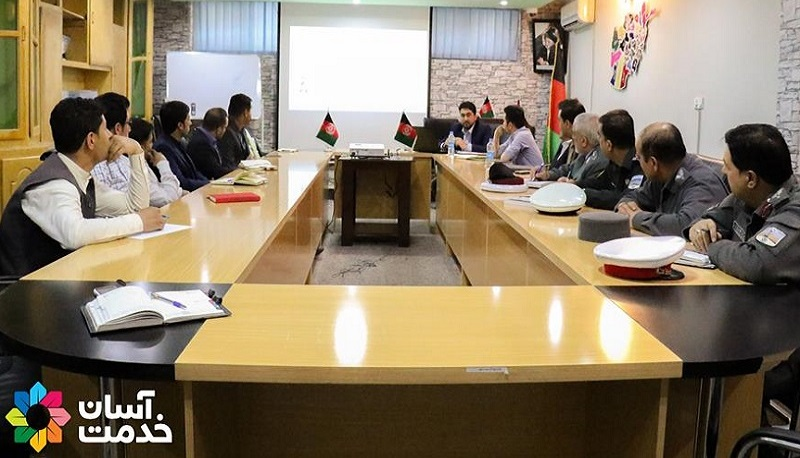 Car registration certificate & Driving licenses are converted into smart cards in Afghanistan